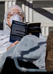 Какие книги читают во время карантина?