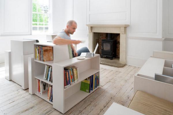книги хранить в кресле