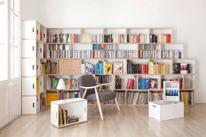 Как правильно хранить книги в маленькой квартире